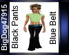 [BD] BlackPants&Belt