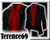 69 Chic -Black Red