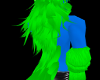 [SD]Blu/Green BackFur M