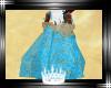 Daenerys blue gold veil