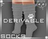 Socks Grey F1a Ⓚ