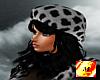 Hat&Hair grey Leopard /f