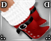 !DD! Mrs Claus Fur Boots