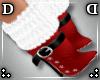!DD! Mrs Claus Fur Boots