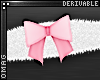 0 | Fluffy Bow Cuffs
