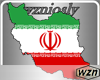 wzn Persia Flag Map