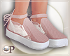 Pastel Ribbon Shoes Pink