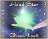 Hand Star (Green Left)