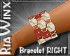 Garnet Pearl Brclt RH