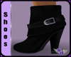 (1NA) Black Ankle Boots