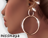 ℳ. Softly Rgold Hoops