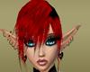 Red bangs