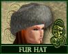 Fur Hat Gray