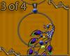 VA Peacock Necklace