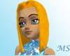 Orange Marble Giannette