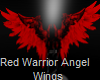 ~Red Warrior Angel Wings