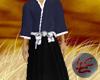 Samurai Outfit Blue&Blk