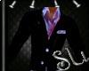 *SU* Purple Black Suit