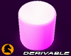 ♞ LED Round Chair
