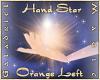 Hand Star (Orange Left)