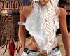 GR White Fashion Top