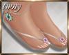 Pastels Flip Flops