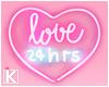 |K 💖 Pink Love Neon