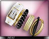 !M! Nicki Watch Bangles