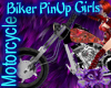 Biker Techno Red Harley
