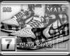 [BE] White Plaid|Kicks M