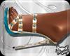 ! GoldBlue Heels
