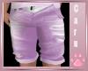 *C* Lavendar Jean Shorts