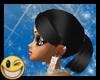 ~MDB~ BLACK LATICIA HAIR