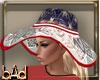 USA Flag Summer Hat