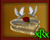 Rose Dove Heart