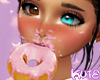 Pink Frosted Doughnut