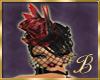 Burlesque vintage red