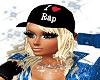 Rapper Cap Blond Hair