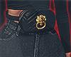 I│Tiger Belt Bag Black