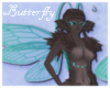 Butterfly fur Tail