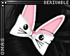0 | Bunny Ear Hair Bows