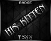 !TX - His Kitten Badge