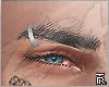 Brows piercing