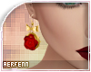 [A] Rose Earrings
