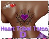 |AM|Heart Tribal Tatoo D