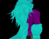 [SD]Purp/Teal BackFur M