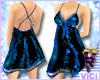 ! Vici-Sexy Sequin Navy