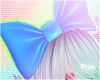 ` Blue Bow