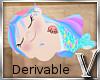 *V* Mermaid Plushie Doll