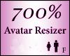 Avatar Resize Scaler 700